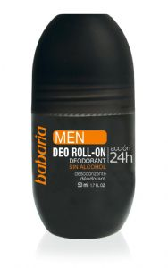 Babaria Men's Roll on Deodorant Paraben Free 50ml